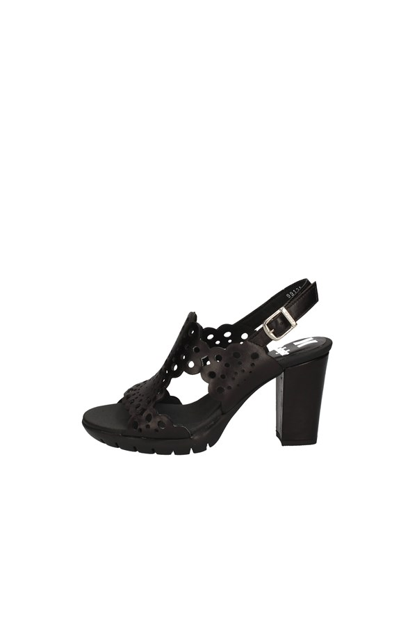 CALLAGHANSandals  With heel 99121 BLACK