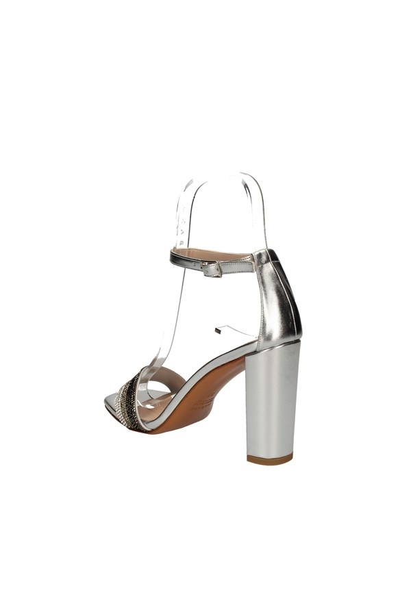ALBANO With heel SILVER