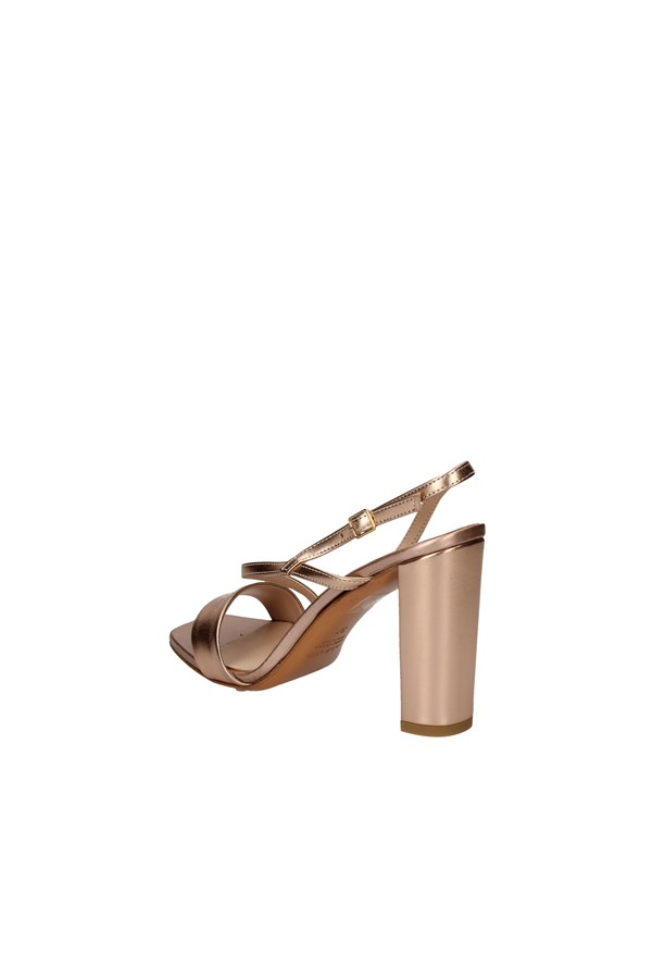 ALBANO With heel COPPER
