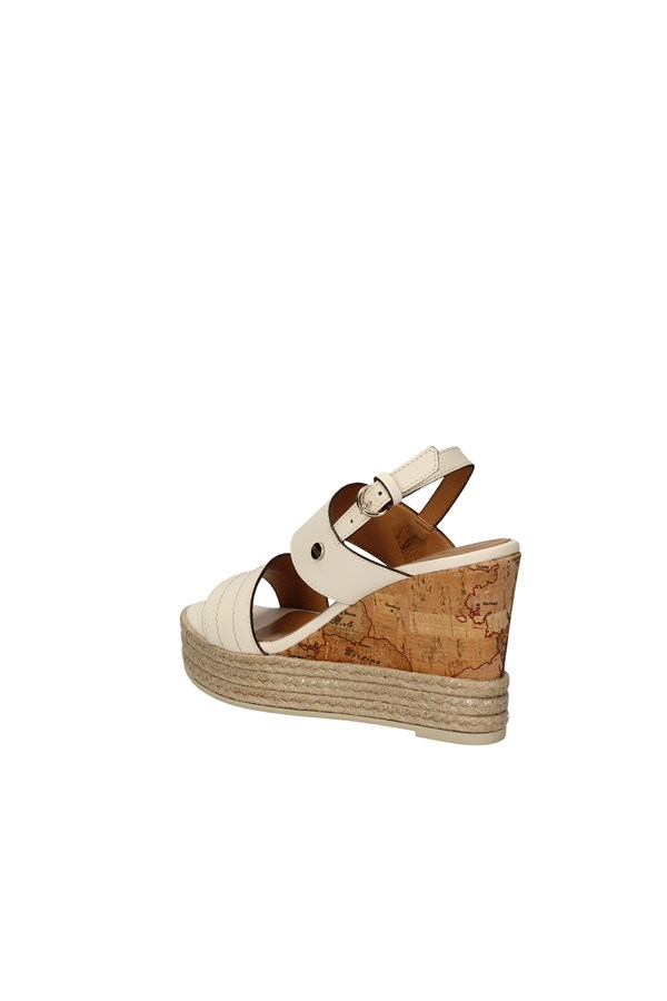 ALVIERO MARTINI WEDGES WHITE