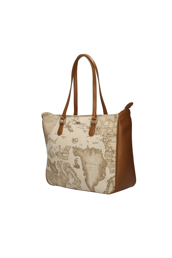ALVIERO MARTINI SHOPPER RAFFIA