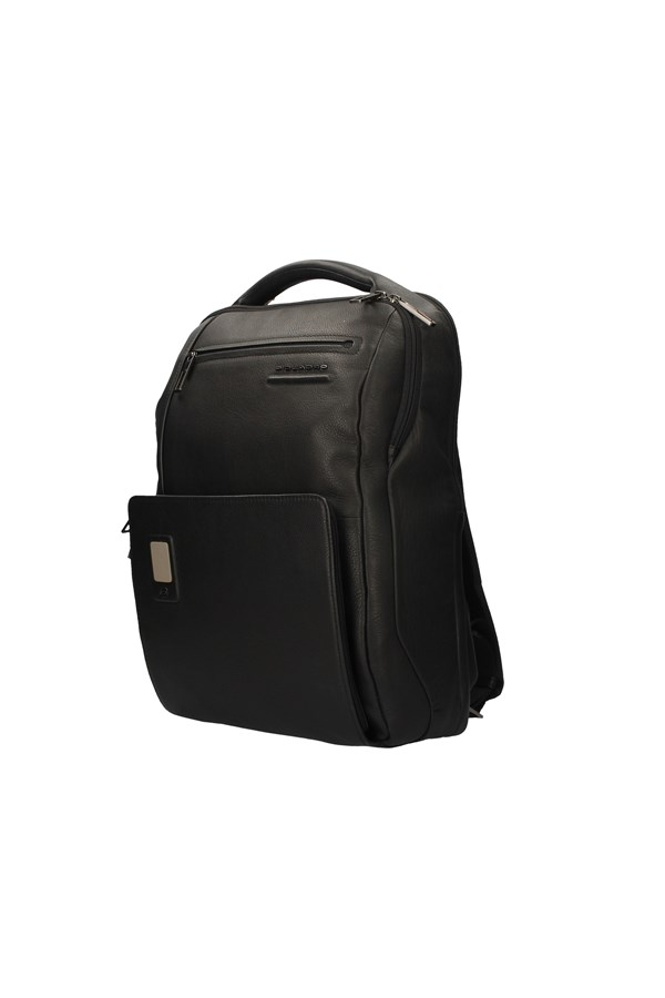 PIQUADRO Backpacks BLACK