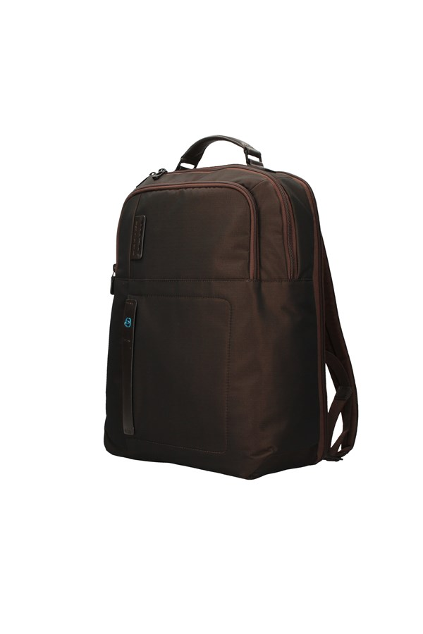 PIQUADRO BACKPACK BROWN