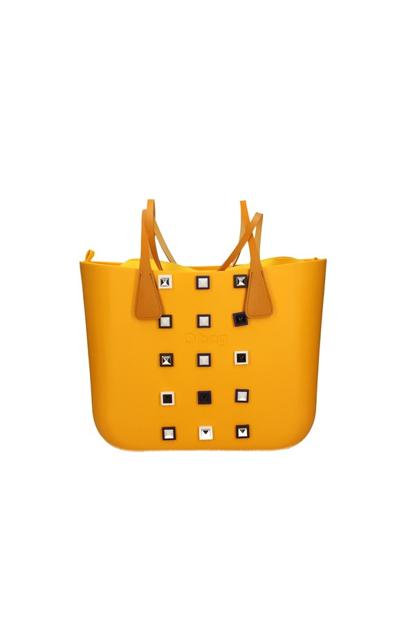 O BAG SHOPPER YELLOW
