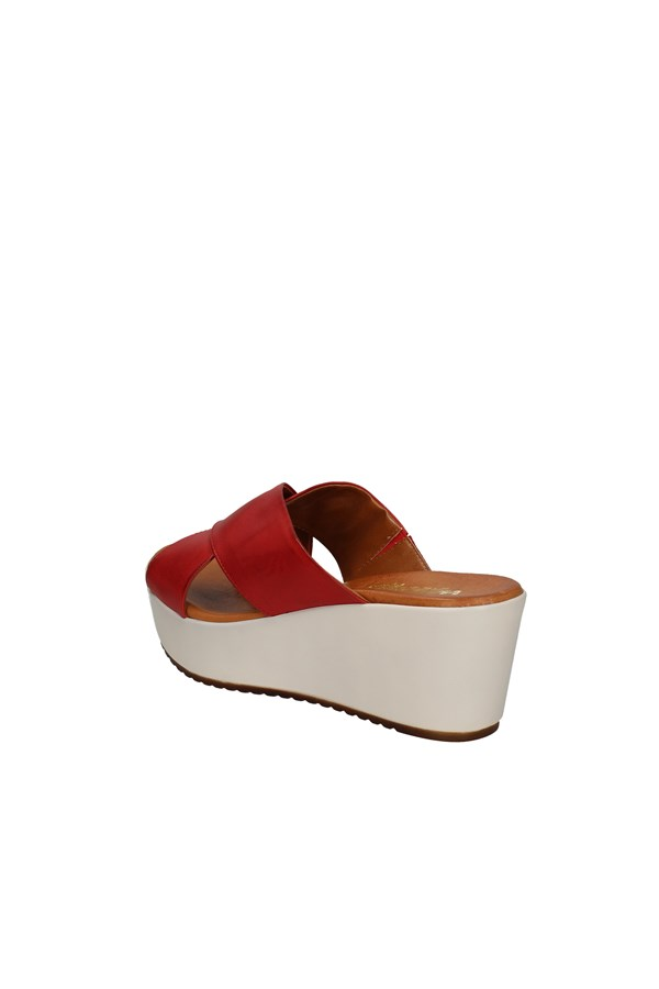 MELLUSO With wedge RED
