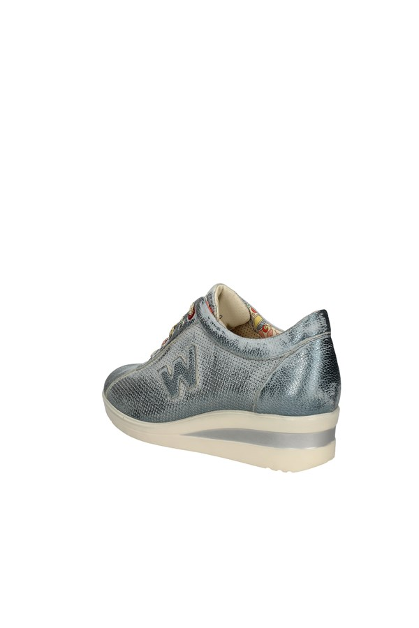 MELLUSO SNEAKERS LIGHT BLUE