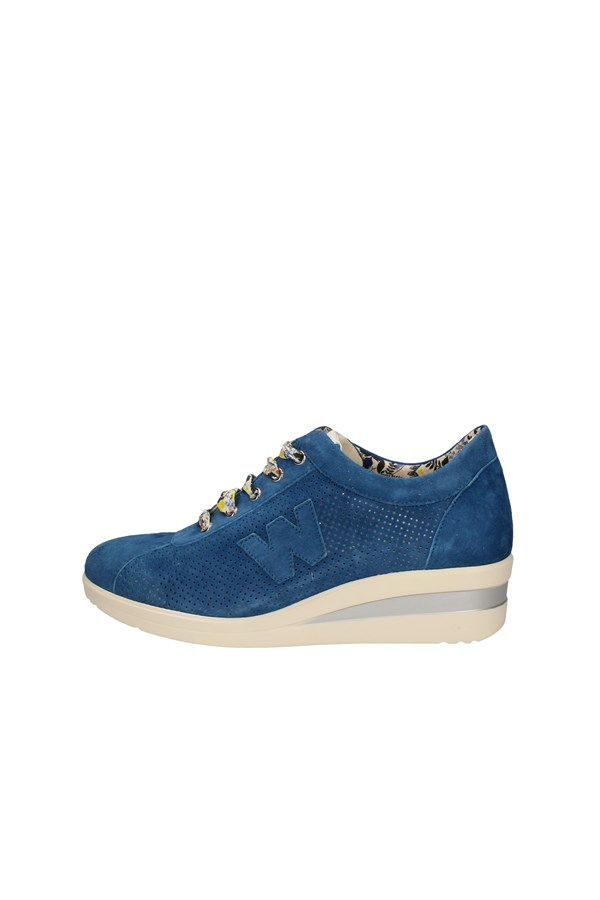 MELLUSO SNEAKERS BLUE
