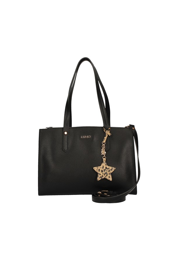 LIU JO SHOPPER BLACK
