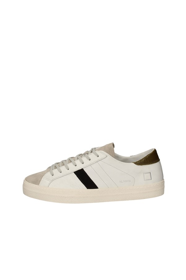 D.A.T.E. SNEAKERS WHITE AND ICE