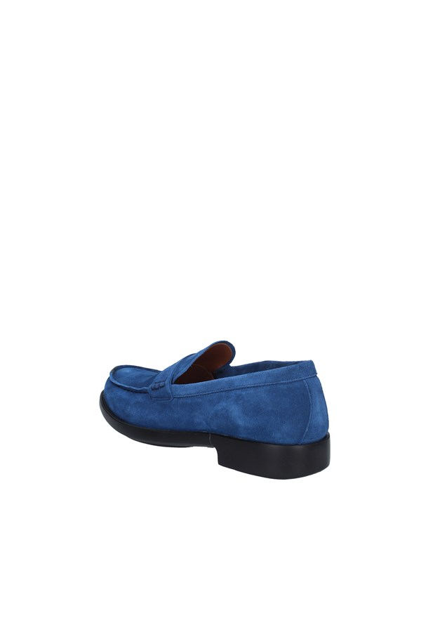 BRIAN CRESS MOCCASIN ELECTRIC BLUE