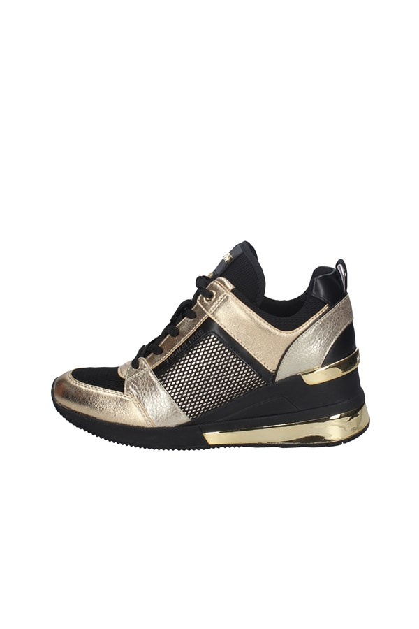 MICHAEL KORS SNEAKERS BLACK AND GOLD
