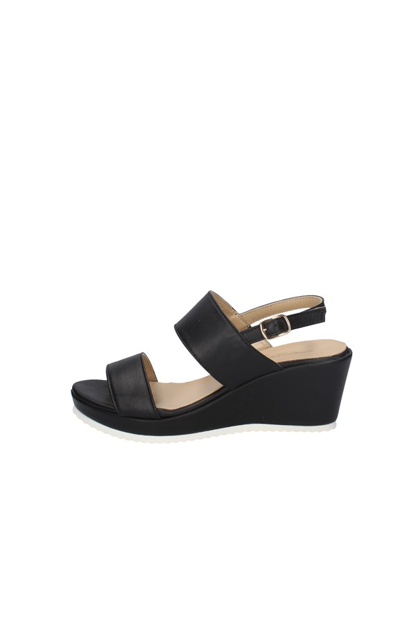 MELLUSO  With wedge BLACK