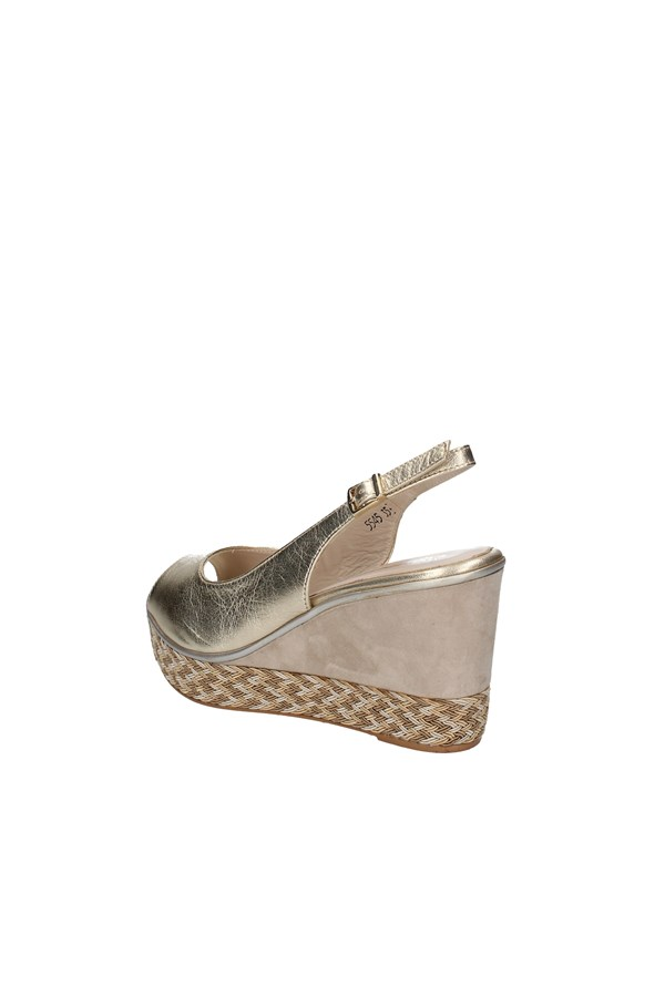 MELLUSO WEDGES PLATINUM