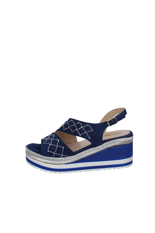 MELLUSO WEDGES DENIM