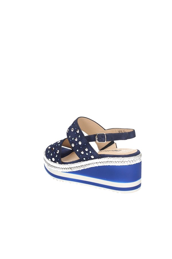 MELLUSO WEDGES BLUE