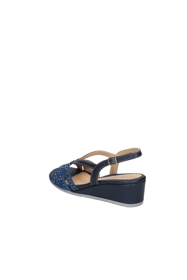 MELLUSO  With wedge DENIM