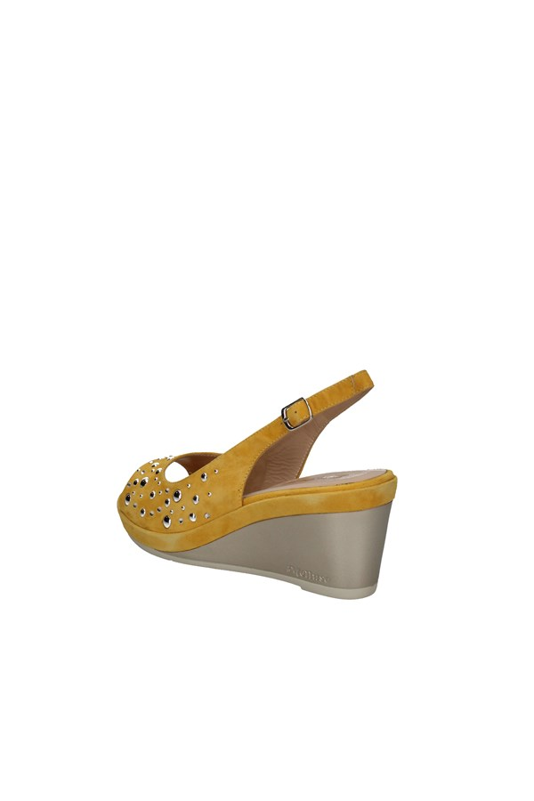 MELLUSO WEDGES YELLOW