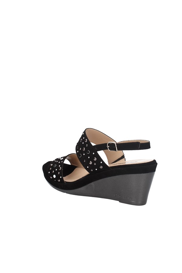 MELLUSO WEDGES BLACK