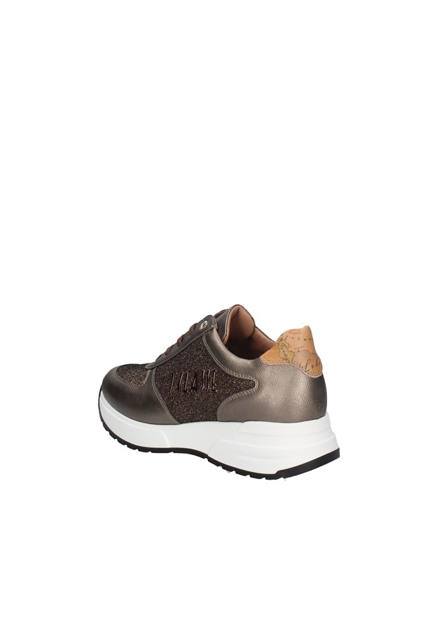 ALVIERO MARTINI SNEAKERS BRONZE.