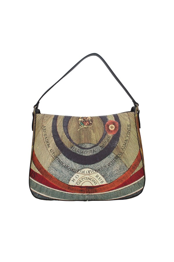 GATTINONI SHOPPER MULTICOLOR