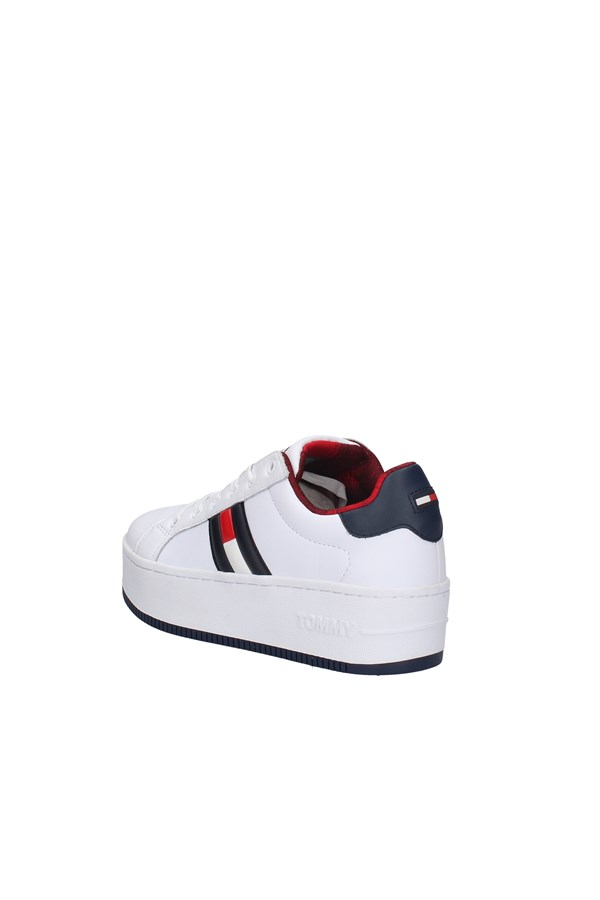 TOMMY JEANS SNEAKERS WHITE