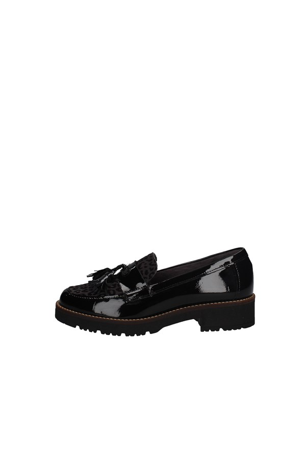 PITILLOS Loafers BLACK