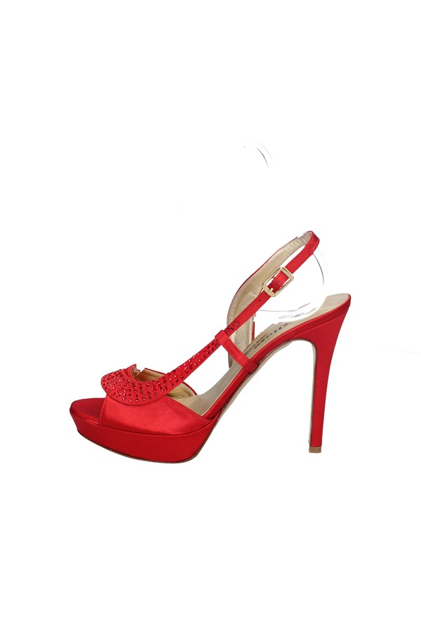 MELLUSO With heel RED