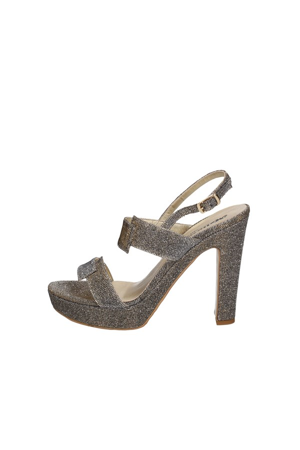 MELLUSO With heel BRONZE