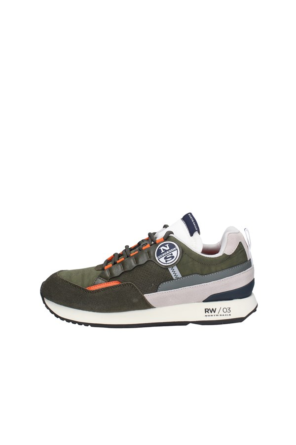 NORTH SAILS SNEAKERS MILITARY GREEN