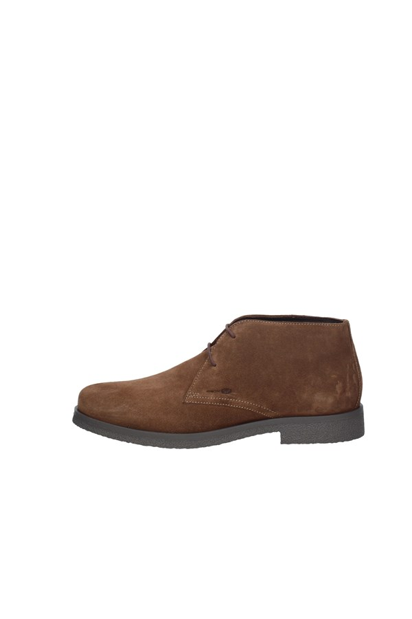 GEOX ankle boots CHOCOLATE