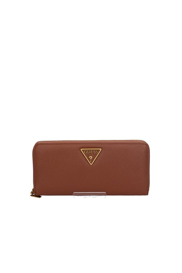 GUESS WALLET COGNAC
