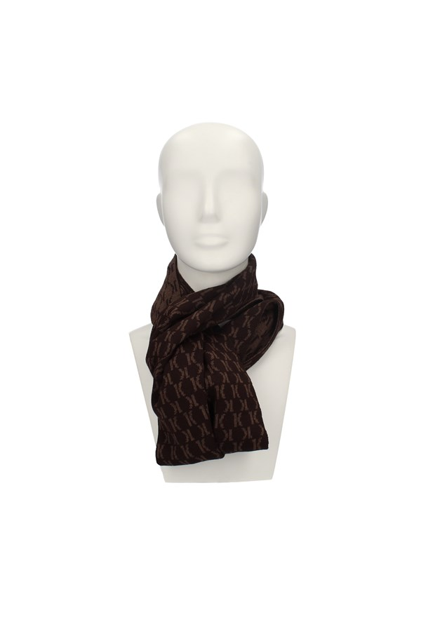 ALVIERO MARTINI Scarves BROWN