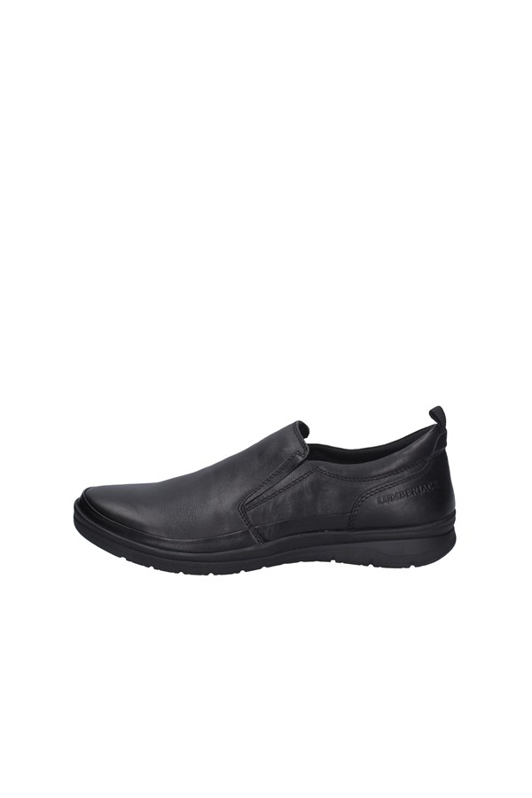 LUMBERJACK Loafers BLACK