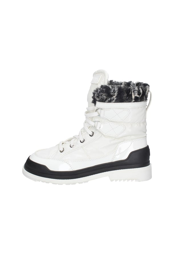 MELLUSO boots WHITE