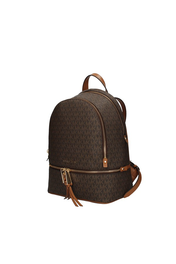 MICHAEL KORS Backpacks BROWN
