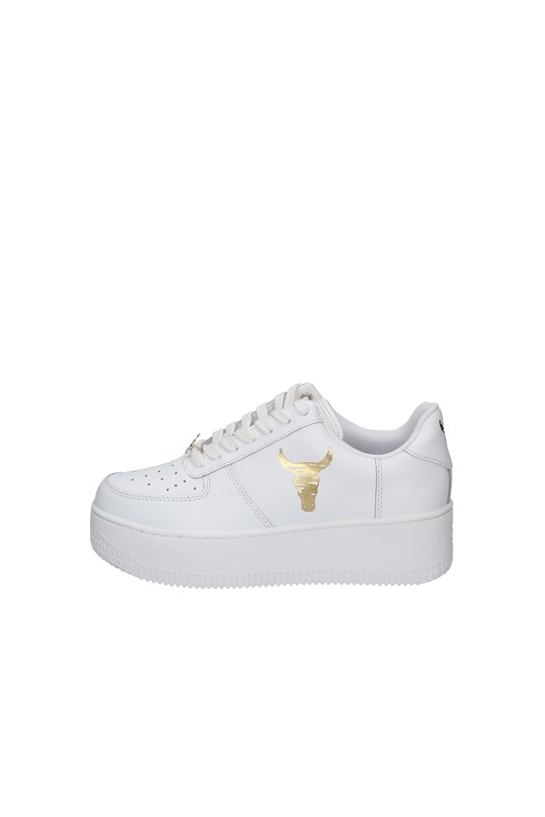 WINDSOR SMITHSneakers   low REMIX WHITE AND GOLD