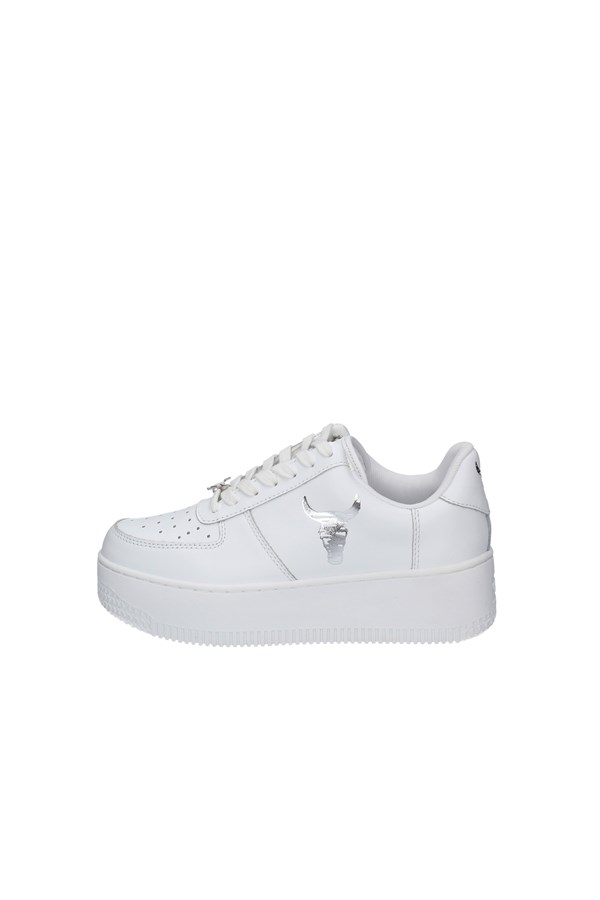 WINDSOR SMITHSneakers   low REMIX WHITE AND SILVER