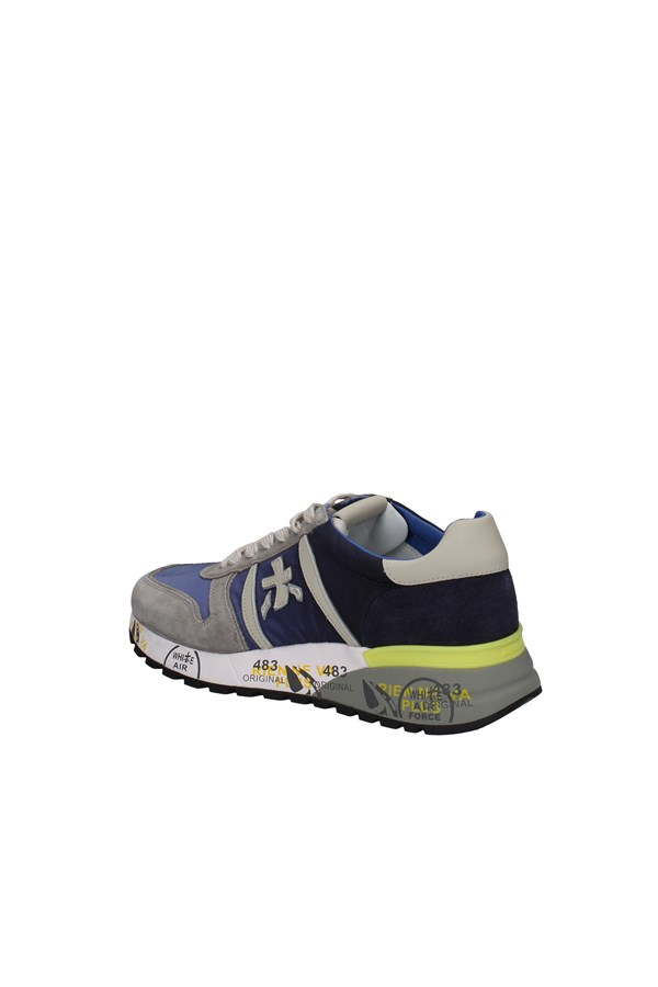 PREMIATA SNEAKERS GRAY AND BLUE