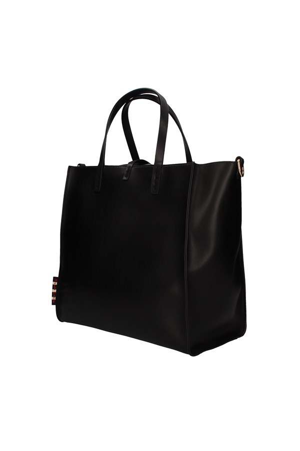 MANILA GRACE shoulder bags BLACK