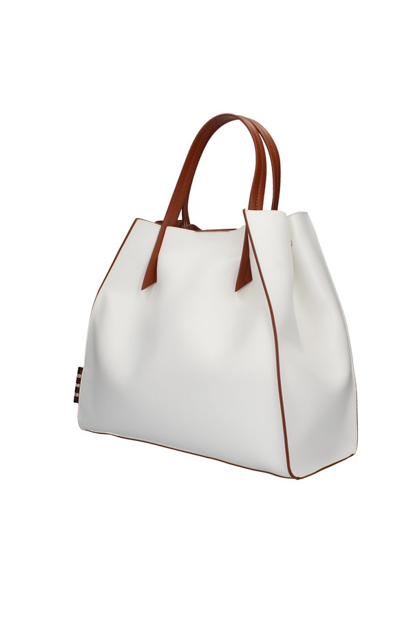 MANILA GRACE shoulder bags WHITE
