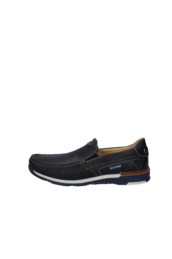 VALLEVERDE Loafers NAVY