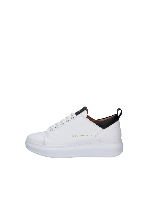 ALEXANDER SMITH SNEAKERS WHITE
