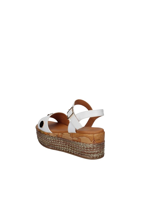 ALVIERO MARTINI SANDALS WHITE