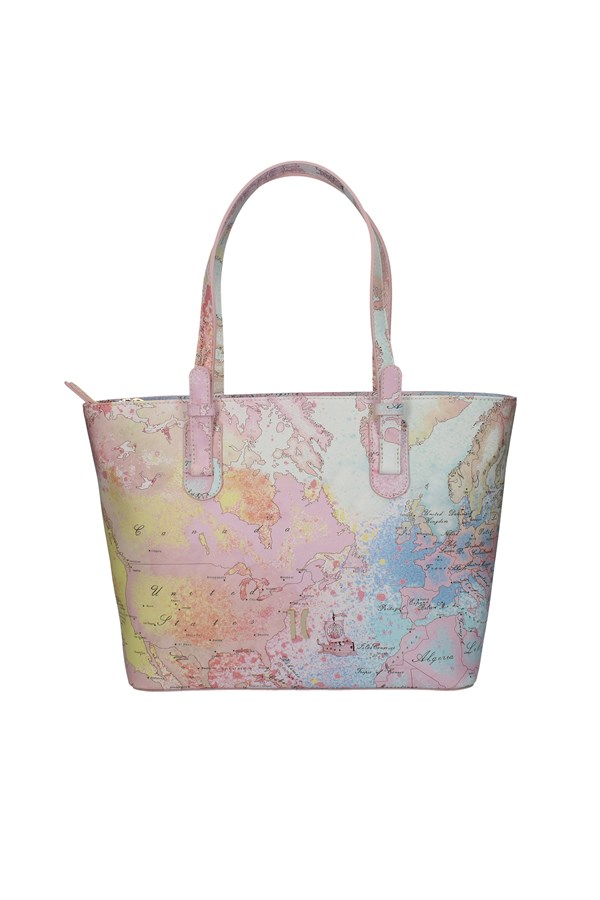 ALVIERO MARTINI SHOPPER MULTICOLOR