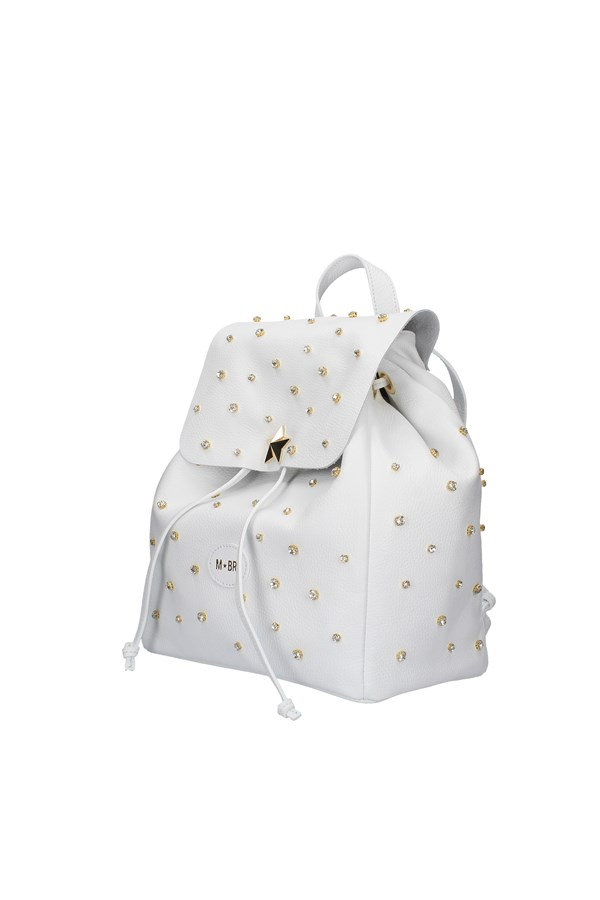 M BRC BACKPACK WHITE