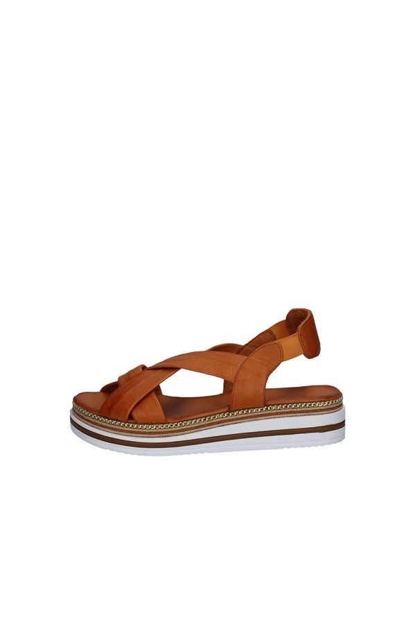 BUENO SHOES SANDALS LEATHER
