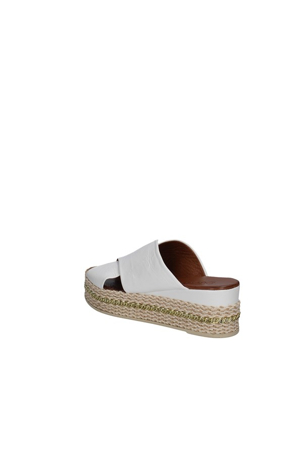 BUENO SHOES SANDALS WHITE