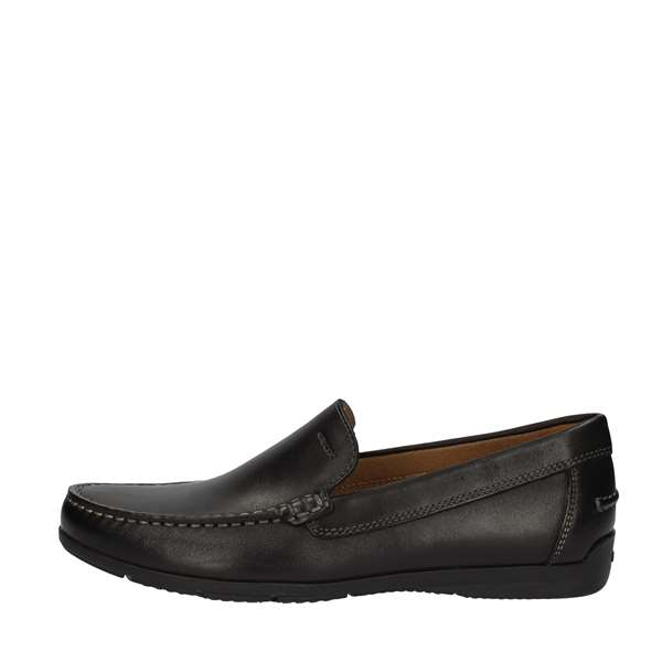 GEOX MOCCASIN Black
