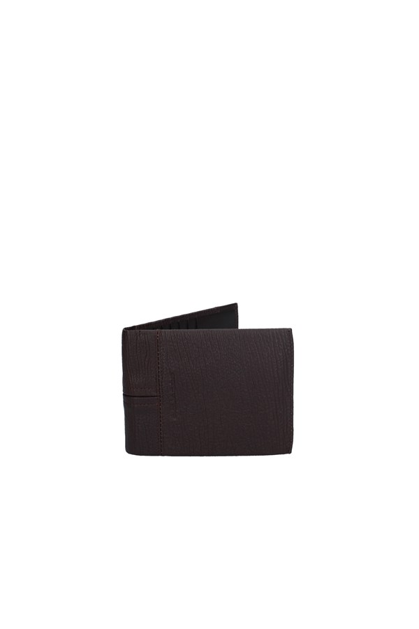 PIQUADRO WALLET BROWN