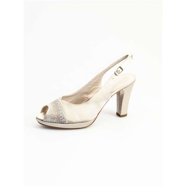 MUSELLAHeeled Shoes  Check 015187 IVORY